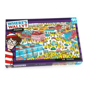 WHERE'S WALLY IN TOWN 100 - 250 PIECES PUZZLE Sea Dinossaurs Kids City Family