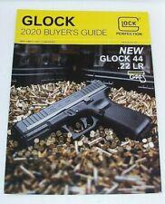 GLOCK 2020 BUYERS GUIDE MAGAZINE DEALER PRODUCT CATALOG GLOCK 44 SHOT SHOW NEW!