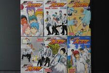 JAPAN novel LOT: Kuroko's Basketball / Kuroko no Basuke -Replace- 1~6 Complete