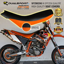 KTM LC4, SMC, 05>08 SuperMoto 620, 640 Sitzbezug, Seat Cover by DualSport-FX