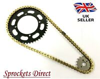 Yamaha TW200 (3XT,5RS) Heavy Duty GOLD Chain and Sprocket Kit  '95-19