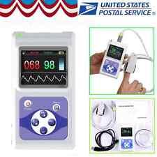 FDA Handheld Portable Pulse Oximeter Spo2 Pr Heart Rate Monitor USB Software New