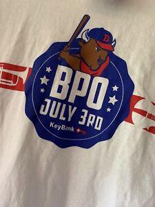 Buffalo Bisons T Shirt July 3rd Event Minor League Baseball MiLB Made In USA XL