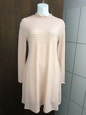 Striped All About Eve Casual Dress Womens Size 14 Long Sleeve