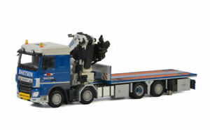 for DAF XF SPACE CAB 8x2 TAG AXLE FASSI 1100 01-2782 1/50 DIECAST MODEL TRUCK