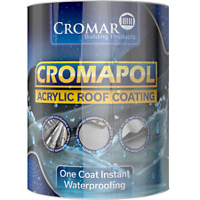 Cromapol   Acrylic Roof Coat   Roof Paint Sealant   Multipack Offer   5kg Tins