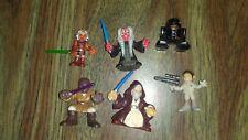 STAR WARS Playskool GALACTIC HEROES FIGURE Ahsoka Leia Droid lot x6  FREE S/h