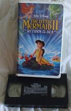 Walt Disney The Little Mermaid II Return to the Sea Vhs Movie VCR Tape #2