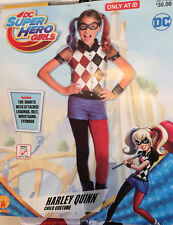 Rubie's DC Superhero Girls - Harley Quinn Child Costume Small Sz 4-6 - 3-4 Yrs
