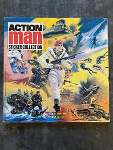ACTION MAN STICKER ALBUM PANINI 1983. COMPLETE FINISHED