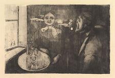 Edvard Munch Print Reproduction: Tete-a-Tete: Fine Art Print