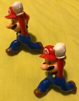 MARIO McDonalds Happy Meal Toy figure Bundle 2014 SUPER MARIO BROS / cake topper