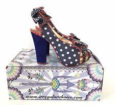 Ladies Irregular Choice Aphrodite Shoes, Uk Size 5 - EU 38 - New With Box