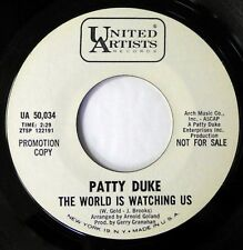 PATTY DUKE 45 The World Is Watching.../Little Things... UA teen VG++ promo d2197