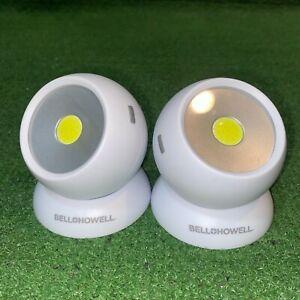 Bell + Howell Bionic Light 200 Lumen COB LED Lights 3 Modes (2 Pack)