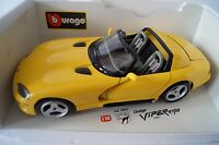 Bburago Burago Modellauto 1:18 Dodge Viper RT/10 1993 Cod. 3065 *in OVP*