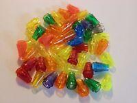 LEGO   100 konisch kegel 1er Bausteine 64288 4544720 in transparent rot  NEU