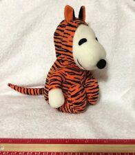Peanuts UFS Dog Tiger Costume Halloween Plush Toy Soft rare Stuffed Animal Soft