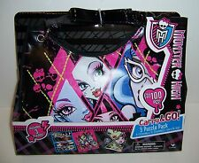 MONSTER HIGH GOTH Gothic GIRLS PURSE SHOULDER BAG & 3/100-PC PUZZLE PACK NEW!!