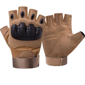 mumumunan Tactical Fingerless Military Half-Fingered Gloves