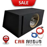 "12"" Ported Subwoofer Custom Enclosure MDF Bass Box Heavy Duty design"