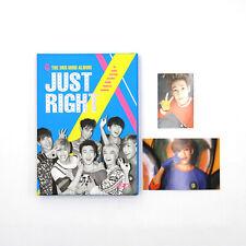 [GOT7] 3rd Mini Album - Just Right / Just Right / Album + Bambam Photocards