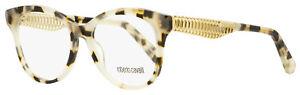 Roberto Cavalli Oval Eyeglasses RC5090 55A Gray Havana/Gold 52mm 5090