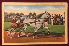 1930s Postcard, Greyhound, Champion Trotter, Lexington, Kentucky, Unposted