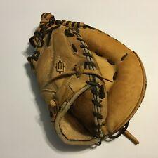 "Easton Stealth Catcher's Mitt RHT Brown Leather 12.5"" Broken In Flaw"