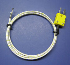 High Temperature K-Type Thermocouple Wire Sensor for Digital Thermometer PK1000