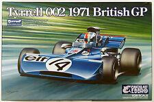 Ebbro 20008 Tyrrell 002 1971 British GP 1/20 scale plastic model kit