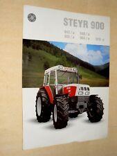 Prospectus Tracteur STEYR M 942 1994 brochure traktor tractor trattore prospekt