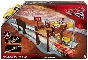 NEW Disney Pixar Cars 3 Fireball Beach Run Playset with Cruz Ramirez