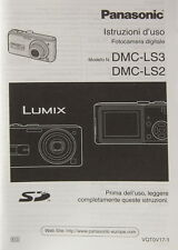Panasonic dmc-ls3/dmc-ls2 istruzioni d 'lessivée Italian Manual - (14399)