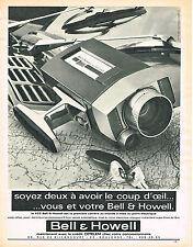 PUBLICITE   1967   BELL & HOWELL    caméra