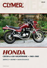 Clymer Repair Service Shop Manual Vintage Honda CB550C 83 CB650SC 83,84,85