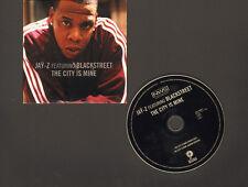 JAY-Z Blackstreet NEW CD SINGLE 2 track THE CITY IS MINE 1998