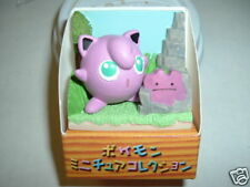 Pokemon JIGGLYPUFF Action Figure Ceramic Diorama japan  Jiggly Puff Jigly puf