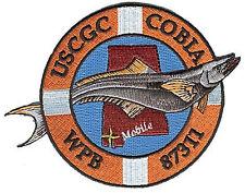 USCGC COBIA Mobile Alabama blue W4850 Coast Guard patch WPB-87311