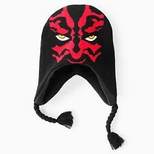 Star Wars DARTH MAUL LAPLANDER HAT Peruvian Beanie (BOYS 4-20) Darth Vader