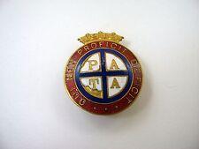 Rare Vintage 1919 Collectible Pin: PATA Qui Non Proficit Deficit Nursing
