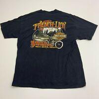 Harley Davidson T-Shirt Mens XL French Lick West Baden Indiana Short Sleeve