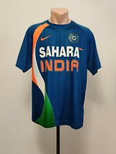 Cricket shirt Sahara India Team 2010 Nike Dry Fit Jersey National Blue Men's L
