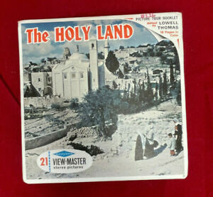 Vintage View-Master Stereo Reel Set - The Holy Land - B226