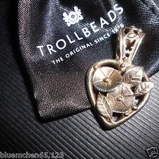 original Trollbeads ♥ ♥ Herz - Anhänger ♥ ♥ Boheme  ♥ ♥  wunderschön & Neu