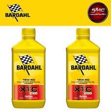 BARDAHL Moto XTC C60 15W50 Lubrificanti Olio Motore Moto 4 Tempi 2 LT FULLERENE