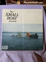 The Small Boat Journal March 1980 Volume 1, No. 8 Magazine Back Issue Large