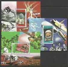 Timbres Cosmos Djibouti blocs spéciaux PA161/3 ** lot 25950 - cote : 35 €