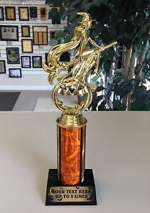 AWESOME HALLOWEEN TROPHY WITCH SCARECROW PUMPKIN CARVING & COSTUME CONTEST AWARD