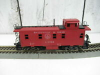 Vintage Baltimore and Ohio B&O Railroad Red Caboose Crew Car HO Scale #C-1769